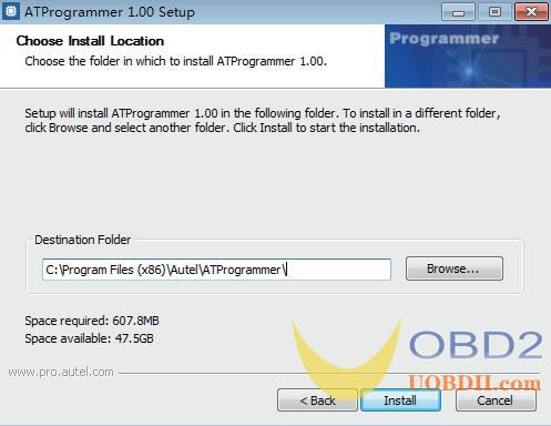 xp400 software install