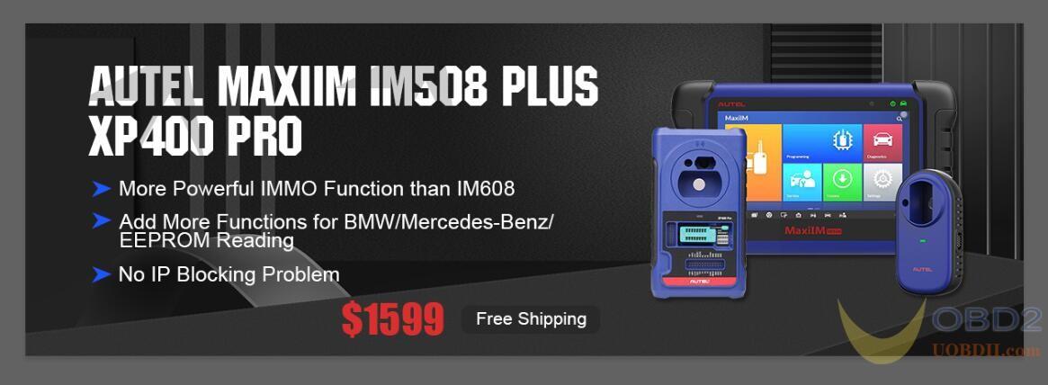 Autel MaxiIM IM508 With XP400 Pro